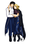 Roy and Riza Commission by windrider01