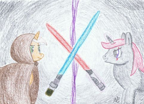 Duel of Fates by NinjaEngie
