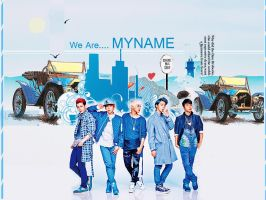 MYNAME (All Blue) by Soraessence