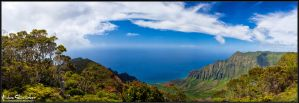 The Kalalau Valley by AndrewShoemaker