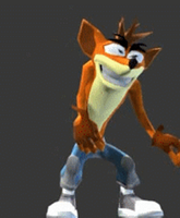Crash Bandicoot Dance Animated by XDRAKO23X by xdrako23x