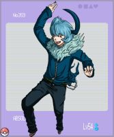 Gijinka Pokemon- Absol by thewavertree