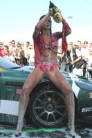 Girl Car Wash 10 by luis75