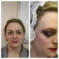 bridal look by xosweet91kissesx