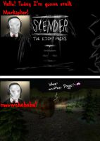 Slender Play ! by Raikuni