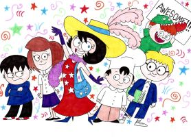 Really Rosie and the Nutshell Kids by nerdsman567