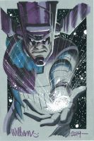 Galactus invaded Heroescon by BroHawk