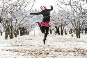 Winter in the Orchard (Modeling) by SophieKoryn