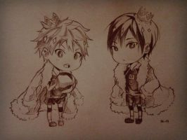 The Queen and King? idk x'D by kiraruun