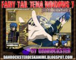 Jellal Fernandes Theme Windows 7 by Danrockster