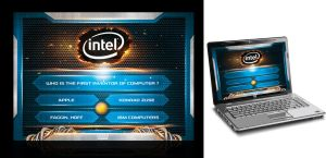 INTEL Quiz event interface by 5835178