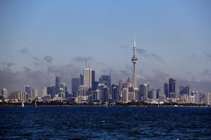 Toronto Skyline (attempt #2) by KMourzenko