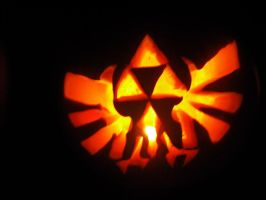 The Legend of Zelda Pumpkin by Black-Destiny