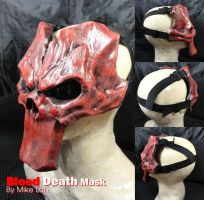 Blood Death Mask straps by Uratz-Studios