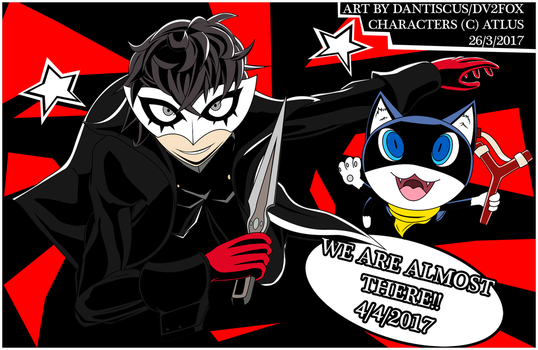 FA-The Phantom Thieves are nearby! by dantiscus