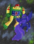 MLP/TF: Cosmos and Luna by KarToon12