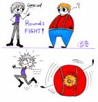 Bobs new fighting style by X-mei