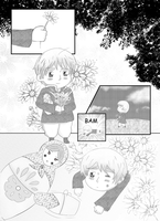 Hetalia doujinshi. Page 1 by Black-Cat-Angel