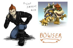 Project SMASH - Bowser by Krowjak