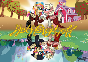 BABScon 2017 Ashleigh Ball Announcement Art by LostInTheTrees
