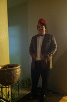 Me as Doctor Who (Matt Smith) fez included by CursedFlame101