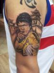 bruce lee tattoo by kamuyart