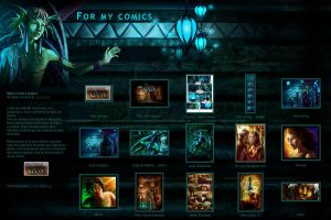 For my comic -Gallery CSS- by DavinArfel