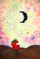Mister Strawberry Cries At The Moon by James-McKenzie