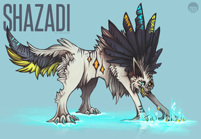 + Commission: Shazadi by moxiv