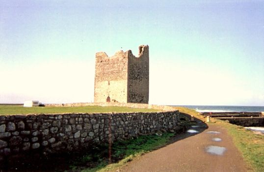 Coastal watch tower Ireland by kittensmitten