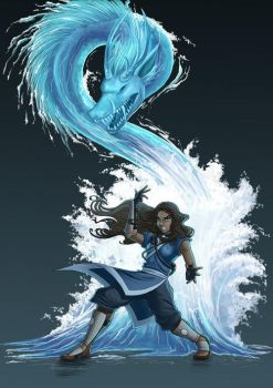 water bender epicness by forgottenwaterbender