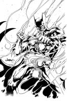 Batman as White Lantern by MindWinder