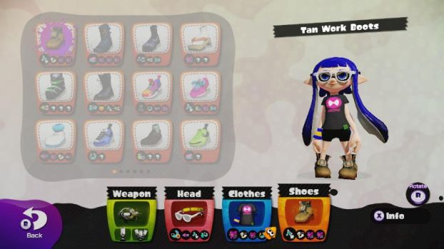 My Main Gear and Weapon! by pkmnlover000