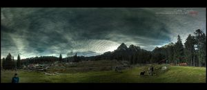 Busteni - Panorama - HDR by vxside