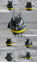 Pluplush Batman by Superpluplush