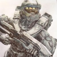 Master Chief by PatrickRyant