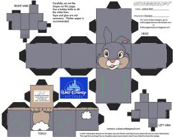 Dis48: Thumper Cubee by TheFlyingDachshund