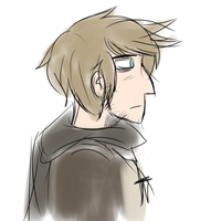 OOC: VERY FIRST ATTEMPT AT DRAWING A PROFILE SHOT by AskForoyar