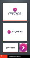 Play Media Logo Template by LogoSpot
