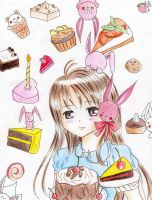 Usako. Have A Cake by xiiTErRie