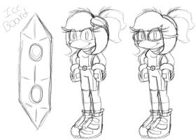 ::Sonic Riders Ref WIP?:: by SophieTheYoshi