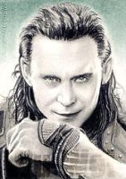 Tom Hiddleston miniature by whu-wei