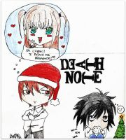Death Note Christmas by ilovepretzles