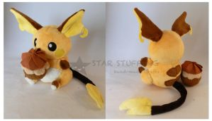 Raichu Pokepuff by StarMassacre