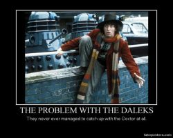 The problem with the Daleks by crazyartist12