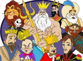Disney Kings by Gilliland35