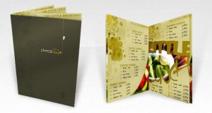 The Little Cook Menu by akses