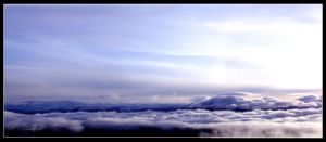 Obscured by Clouds by scofco