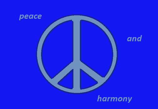 Peace And Harmony by irisisawesomeness