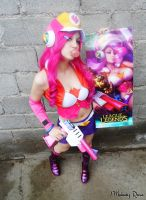 Miss Fortune Arcade Cosplay - League of Legends 2 by MelodyxNya